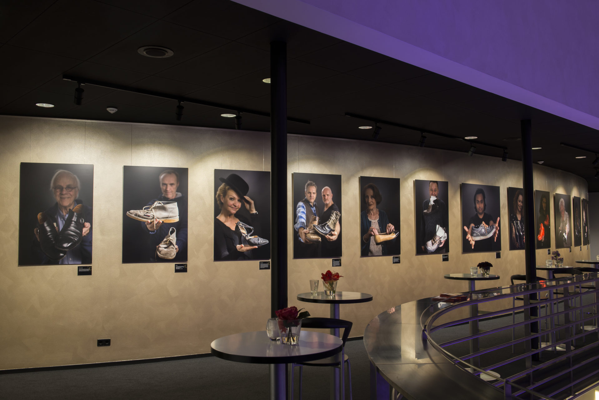 Expositie in theater de Leest